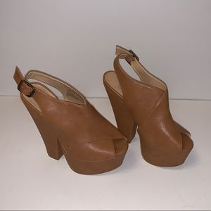 Steve Madden Galleria Slingback Heeled Sandals
